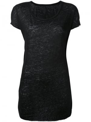 Классическая футболка Thom Krom. Цвет: чёрный