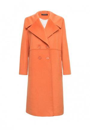 Пальто Lucky Move. Цвет: оранжевый