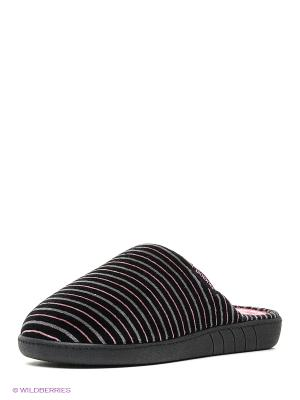 Тапочки Isotoner. Цвет: черный, серый, розовый