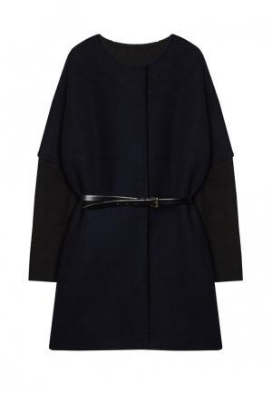 Пальто Base Forms. Цвет: синий