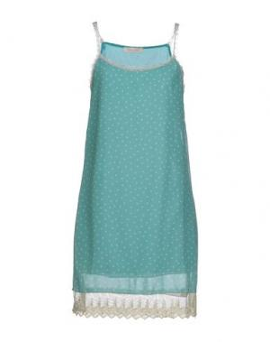 Короткое платье LOU LONDON. Цвет: зеленый