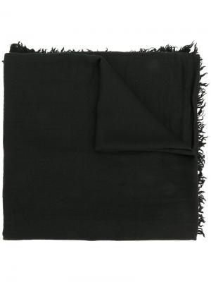 Классическая шаль Massimo Alba. Цвет: чёрный