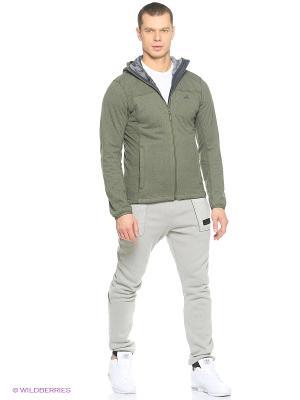 Толстовка Panto Fl Ho Adidas. Цвет: темно-зеленый