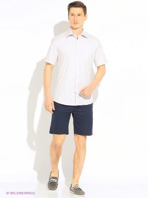 Рубашка Hans Grubber. Цвет: светло-бежевый