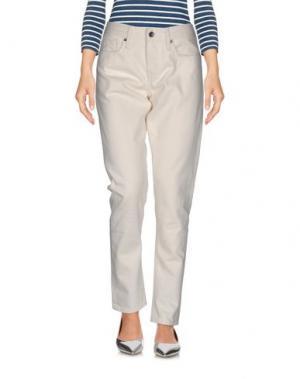Джинсовые брюки LEVI'S® MADE & CRAFTED™. Цвет: слоновая кость