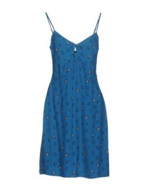 Короткое платье NICE THINGS by PALOMA S.. Цвет: пастельно-синий