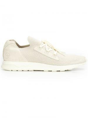 Lace-up sneakers Wings+Horns. Цвет: белый
