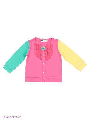 Кардиган Patano. Цвет: розовый, желтый, зеленый