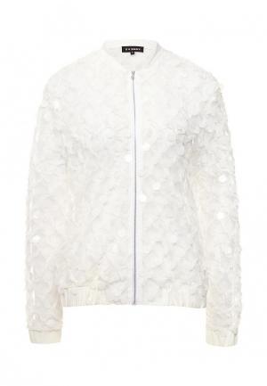 Куртка T-Skirt. Цвет: белый