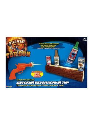 Игрушка ИК-тир Wild West TOP GUN Dragon-i.. Цвет: синий, красный, оранжевый