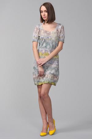 Платье Peter Pilotto. Цвет: мульти