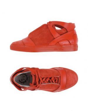Низкие кеды и кроссовки DEL TORO. Цвет: красный