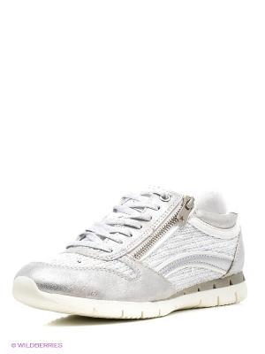 Ботинки Kari. Цвет: светло-серый