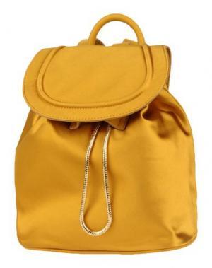 Рюкзаки и сумки на пояс DIANE VON FURSTENBERG. Цвет: охра