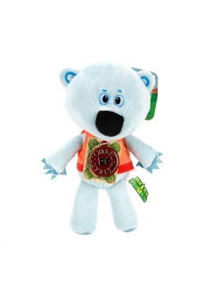 Мягкая игрушка мульти-пульти медвежонок белая тучка 20см. Цвет: голубой, оранжевый