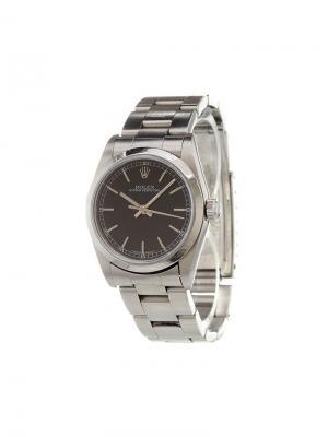 Аналоговые часы Oyster Medium Rolex. Цвет: металлический