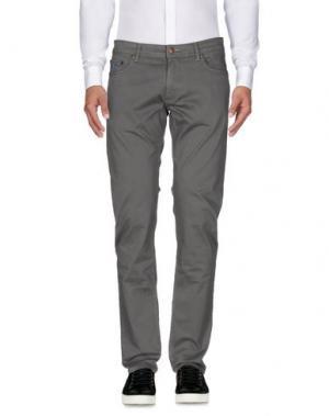 Повседневные брюки MCS MARLBORO CLASSICS. Цвет: серый