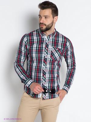 Рубашка OUTFITTERS NATION. Цвет: темно-синий, красный