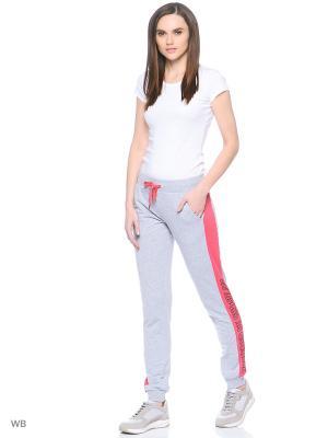 Спортивные брюки Modis. Цвет: серый, розовый