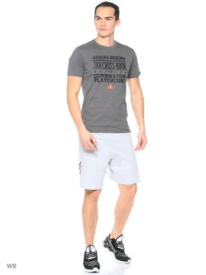 Шорты спортивные Base Shorts Adidas. Цвет: серый