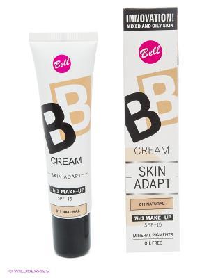 Флюид для создания идеально ровного и совершенного макияжа BB 7in1, тон 11 Bell. Цвет: бежевый