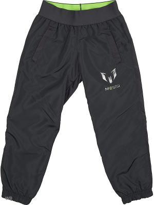 Трикотажные брюки дет. спорт. YB MQ WV PT CH  DKGREY/SGREEN Adidas. Цвет: черный