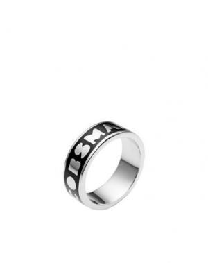 Кольцо MARC BY JACOBS. Цвет: черный