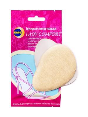 Противоскользящий вкладыш Lady Comfort KAPS. Цвет: прозрачный