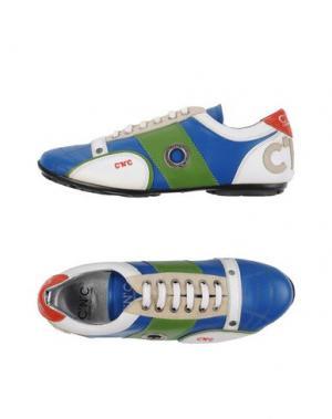 Низкие кеды и кроссовки C'N'C' COSTUME NATIONAL. Цвет: синий