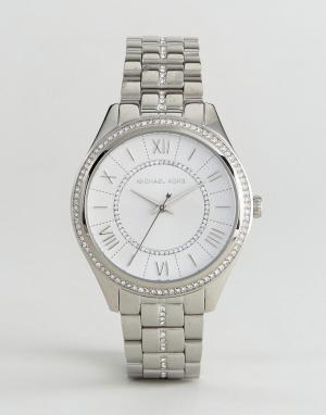 Michael Kors Серебристые наручные часы MK3718. Цвет: серебряный