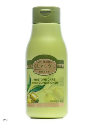 Восстанавливающий кондиционер для волос Olive Oil of Greece 300 ml. Цвет: зеленый, оливковый, салатовый