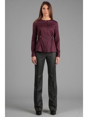 Блуза ЭНСО. Цвет: бордовый