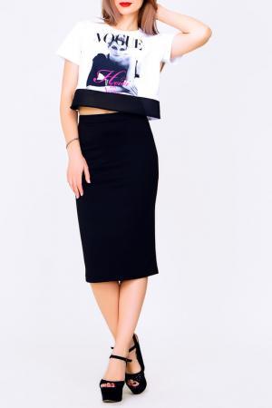 Юбка Majaly. Цвет: черный
