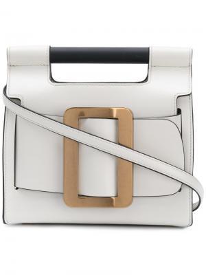 Маленькая сумка-тоут Romeo Boyy. Цвет: белый