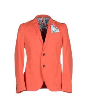 Пиджак MANUEL RITZ. Цвет: оранжевый