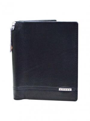 Бумажник большой  Classic Century с ручкой кожа наппа ,гладкая Cross. Цвет: черный