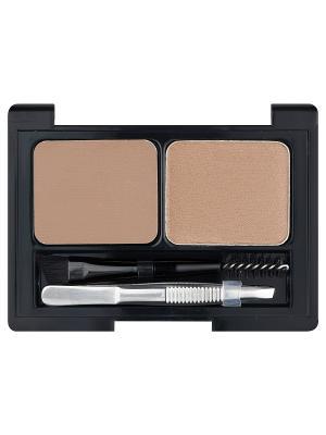 Профессиональный набор для дизайна бровей Brow Artist L'Oreal Paris. Цвет: светло-коричневый