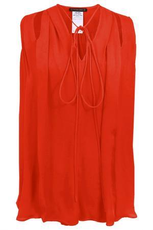 Блузка Plein Sud. Цвет: оранжевый