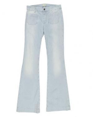 Джинсовые брюки BONPOINT. Цвет: белый