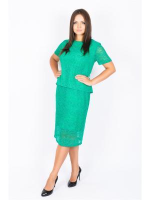 Блузка SOFIANA. Цвет: зеленый