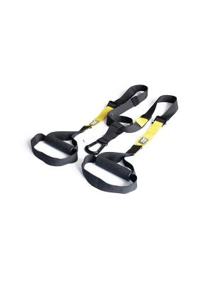 Набор петель для функционального тренинга профессиональный Original FitTools. Цвет: черный, желтый
