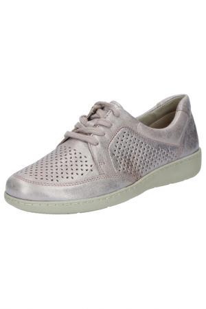 Ботинки Caprice. Цвет: розовый, металлик
