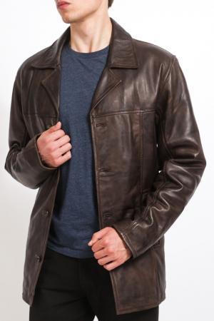Куртка HElium. Цвет: brown