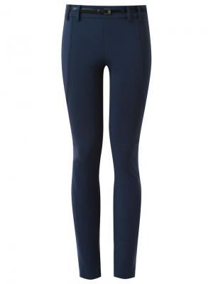 Skinny trousers Gloria Coelho. Цвет: синий