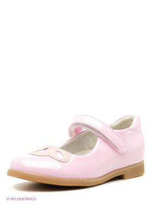 Туфли PlayToday. Цвет: розовый