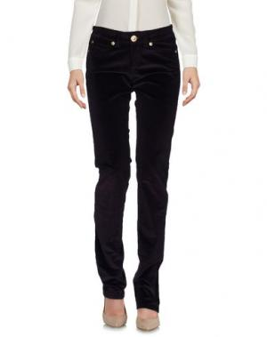 Повседневные брюки BARBA Napoli. Цвет: темно-фиолетовый