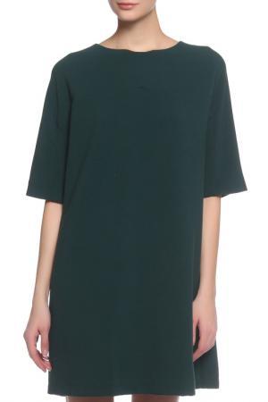 Платье Liviana Conti. Цвет: зеленый