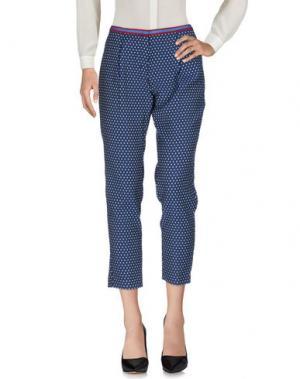 Повседневные брюки 19.70 NINETEEN SEVENTY. Цвет: синий