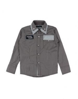 Pубашка MANUELL & FRANK. Цвет: темно-коричневый