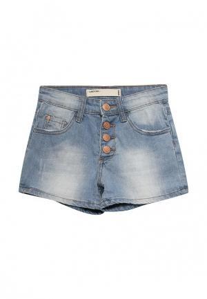 Шорты джинсовые Modis. Цвет: голубой